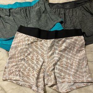 Workout shorts bundle